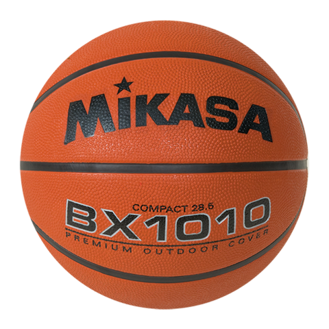 "MIKASA OFFICIAL WOMEN'S SIZE RUBBER BASKETBALL 28.5"" BX1010"
