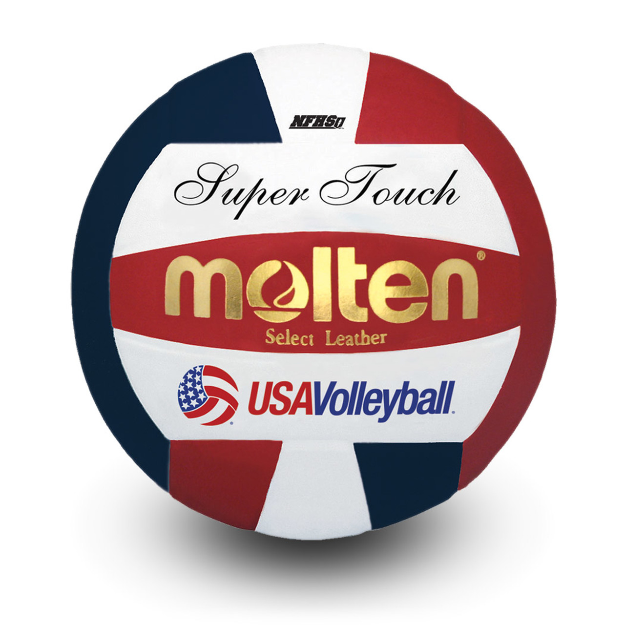 MOLTEN USAV OFFICIAL SUPER TOUCH® VOLLEYBALL (NFHS APPROVED)